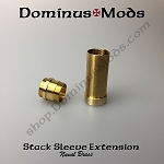 24mm Sleeved Extension, Naval Brass