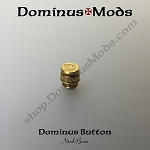 22mm Dominus Button (Navel Brass)