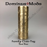 LE, 24mm Hilt, Naval Brass, Clan-Tag