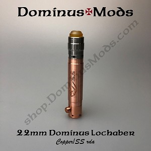 Copper 22mm Dominus, SS Lochaber, Device