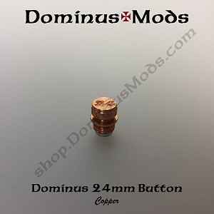 24mm Dominus  Button (Copper)