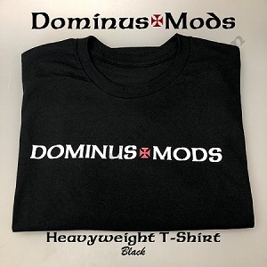 DominusMods shirt, LARGE, BLK
